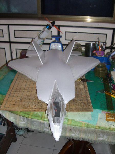 自制遥控飞机diy f-16 过程