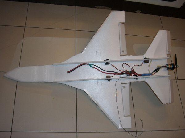 自制遥控飞机diy f-16