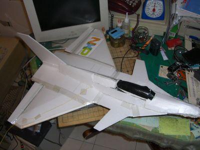 我做p51d遥控飞机